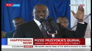 Deputy President William Ruto: Lets stop politicking, focus is now our development