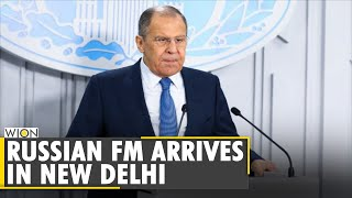 Russian foreign minister Sergey Lavrov arrives in India for two-day visit| S Jaishankar | World News