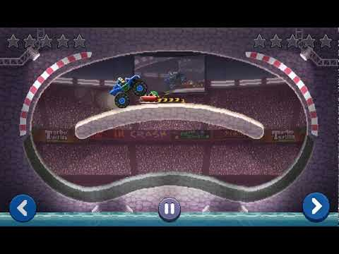 Drive Ahead! Replay: Monster Truck vs. Sleigh.
