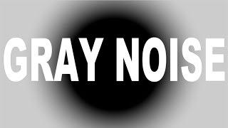 【音響心理学ノイズ】GRAY NOISE グレイノイズ