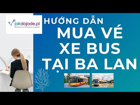 Cách mua vé xe bus trên điện thoai tại Ba Lan bằng app Jakdojade