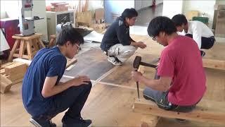 宮大工の技 オープンキャンパスで体験しよう! 継ぎ手加工 伝統文化と環境福祉の専門学校 堂宮大工 就職 建築士