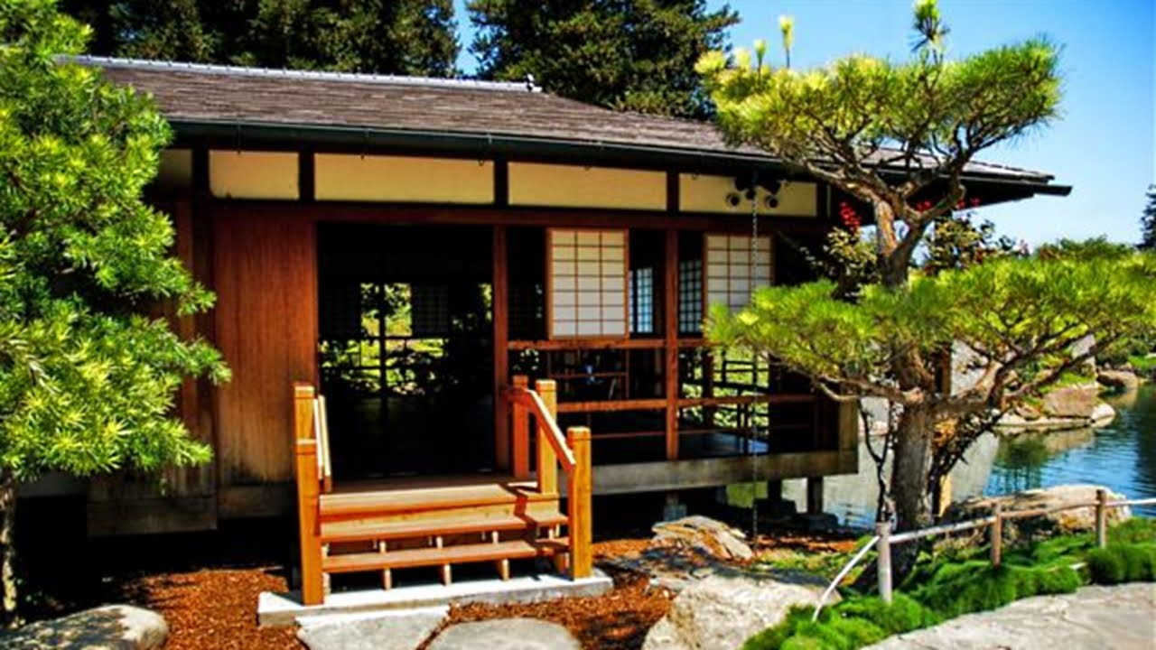 Traditional Japanese House + Garden | Japan Interior Design - YouTube