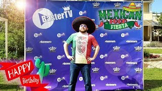 День Рождения Бастера - 23 - Мексиканская вечеринка!