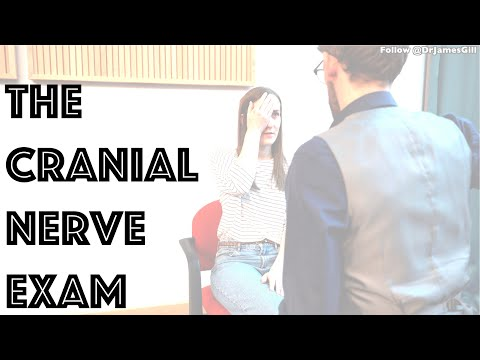 Cranial Nerve Examination Demonstration - 4K - Clinical Skills OSCE