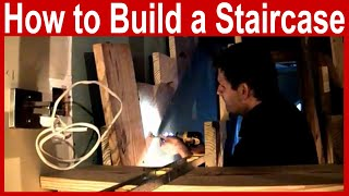 How to Plan and Build a Staircase