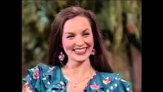 CRYSTAL GAYLE 33 INTERVIEW 4 25 84 COLOR CORRECTED