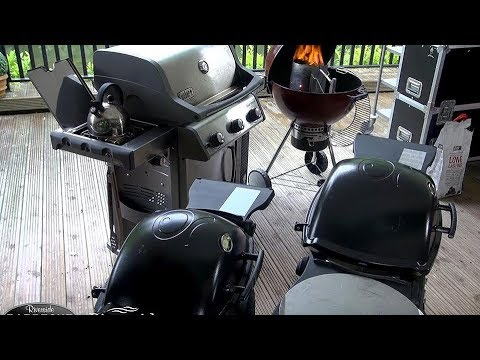 BBQ Cooking Demo on a range of Weber Barbecues with Richard Holden