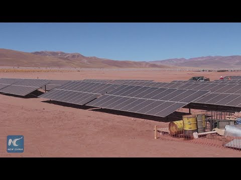 Chinese company leads construction of Argentinean solar park