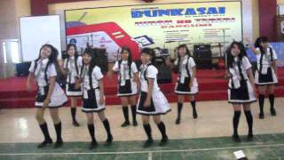 [C-NH]AkemiCN Sidoarjo AKB48 Oogoe Diamond + River! . Dance Cover