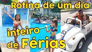 ROTINA DE DIA INTEIRO DE FÉRIAS 100% REAL