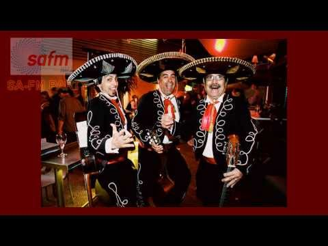 SA-FM Radio Station- with Adelaide's Roving Entertainment- Mariachi Mexican Trio
