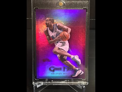 Doublexthebeast's Grant Hill Collection 2017 Update. 90's Basketball Cards!