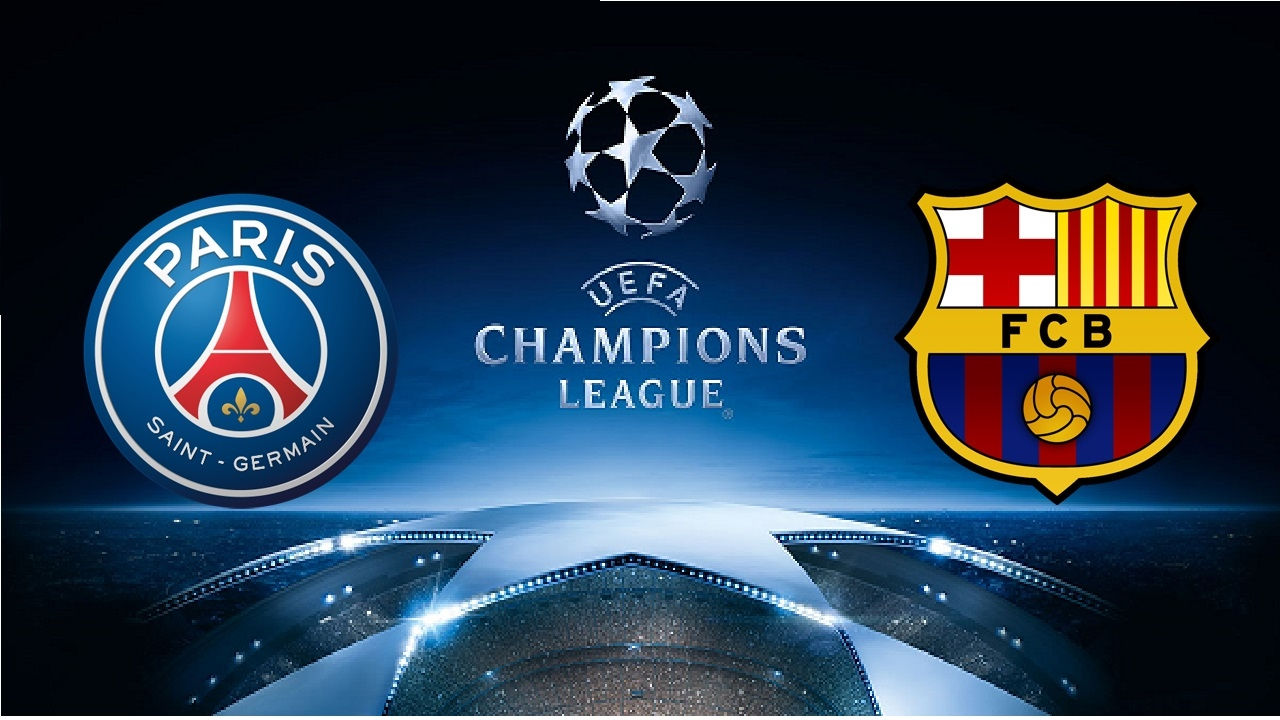 BARCELONA VS PSG CHAMPIONS LEAGUE 2 LEG - YouTube