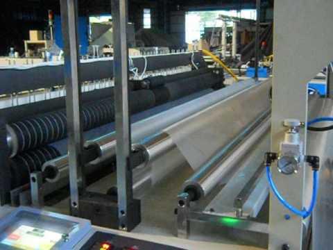 FF-2000 Falt bag making machine / boot sealing machine Taiwan