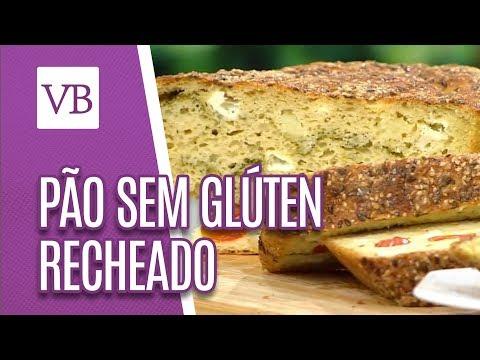 Pão sem glúten recheado - Você Bonita (14/09/18)