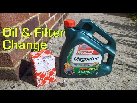 VW T4 Transporter 1999 1.9 TD Oil & Filter Change (ABL)