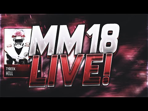 Madden Mobile 18 STREAM!!! COIN GIVEAWAYS!! COIN METHODS!!