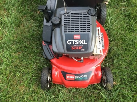 Toro Personal Pace Gts Xl 21 Recycler Lawn Mower Final Look Start August 15 2017