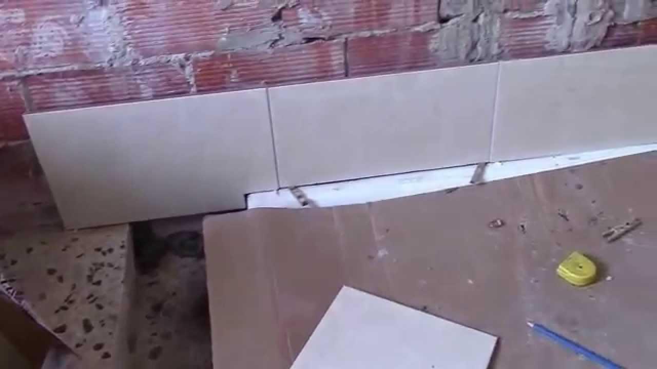 Cambiar una ba era por un plato de ducha 3 parte - Cambiar azulejos ...