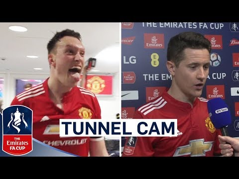 Inside Access as United Reach Final! | Manchester United 2-1 Tottenham Tunnel Cam | Emirates FA Cup