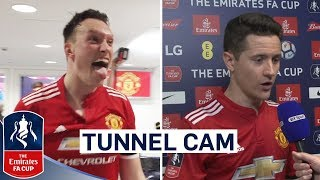 Extended Tunnel Cam as United Reach Final! | Manchester United 2-1 Tottenham | Emirates FA Cup