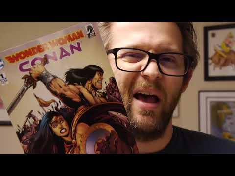 DC Weekly Graphic Novel Review: Wonder Woman/Conan #1