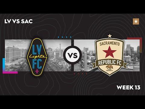 Las Vegas Lights FC vs. Sacramento Republic FC: July 14, 2021