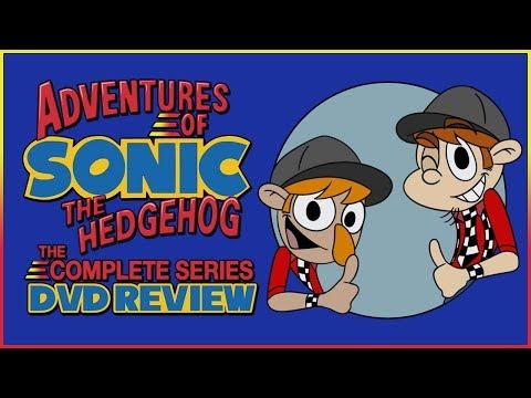 Adventures Of Sonic The Hedgehog: The Complete Series DVD Review - Aficionados Chris