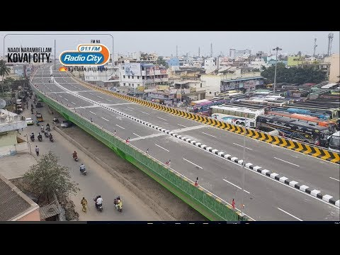 First Ride in Coimbatore GandhiPuram New Flyover -RadioCity Rj's