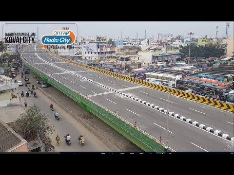 First Ride in Coimbatore GandhiPuram New Flyover -RadioCity Rj's