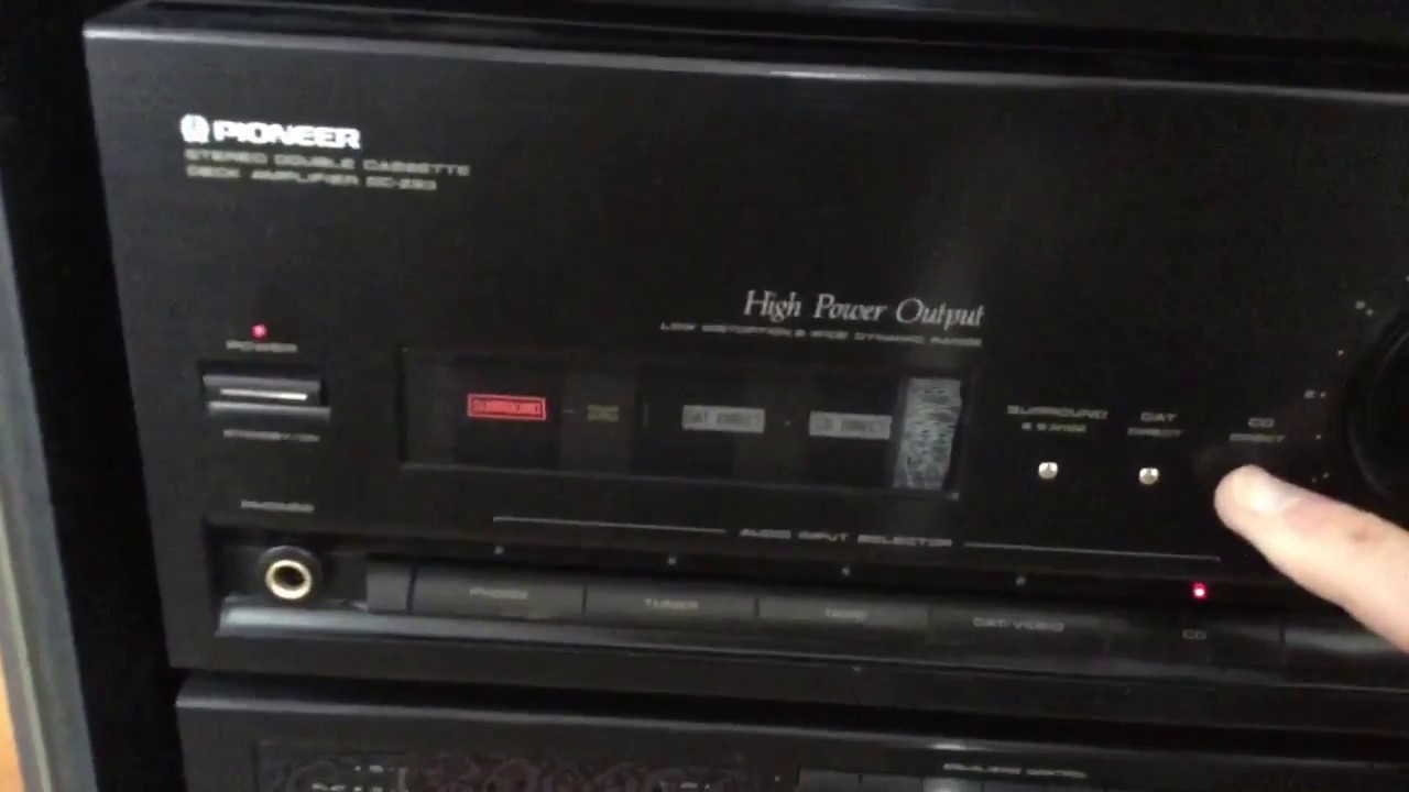 Pioneer Dc Z93 Hifi Sounds Of The Mortal Remains Youtube