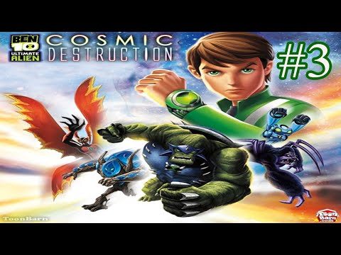 Ben10 Ultimate Alien [PS2] Ultimate SPIDERMUNKEY (Part 3)