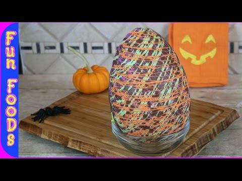 How To Make A Giant Creme Egg   Halloween Cadbury Creme Egg