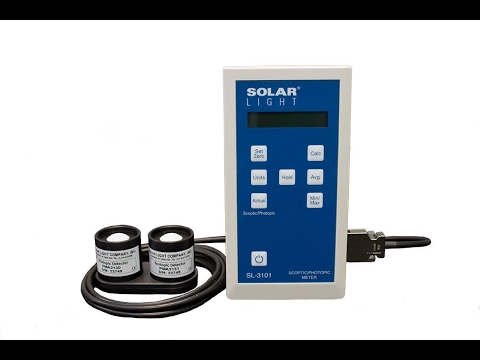 Solar Light Company, Inc. Model SL-3101 Scotopic / Photopic Meter
