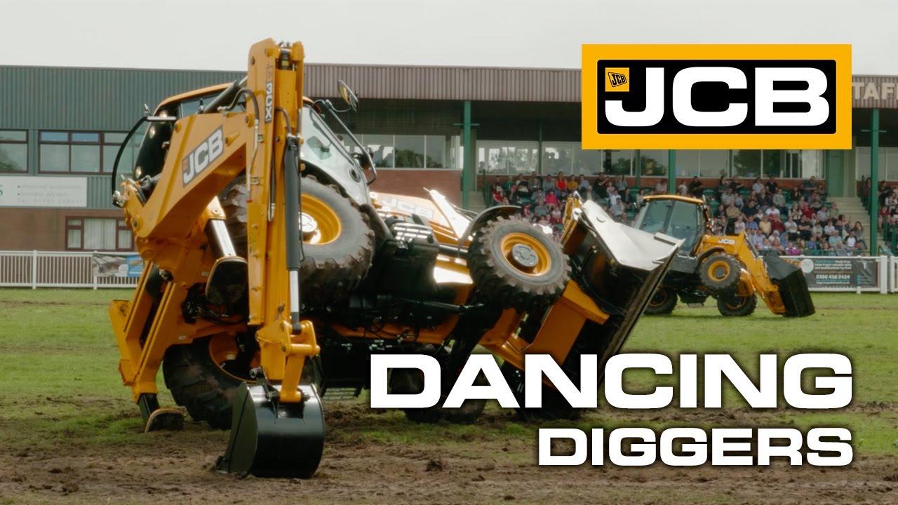 JCB Dancing Diggers 2019