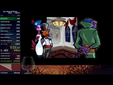 [World Record] Sly 2: Band of Thieves speedrun in 5:25:28