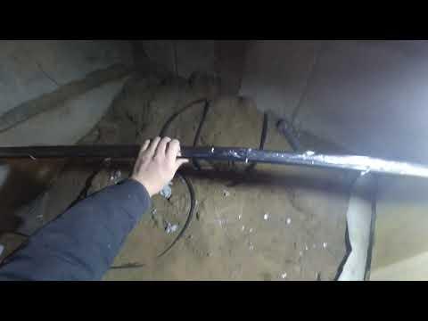 Утепление водопровода в частном доме. Теплый кабель. Насосная станция.