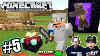 Monstruo de Dia en Minecraft   Casas Abandonadas en Minecraft   Juegos Karim Juega