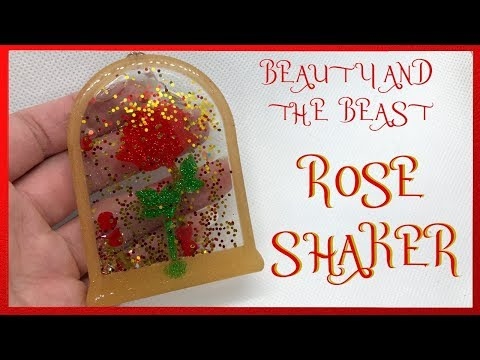Watch Me Resin | Beauty and the Beast Rose Shaker