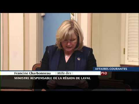 Francine Charbonneau - Déclaration de député - 25e anniversaire de la Loi sur le Curateur public