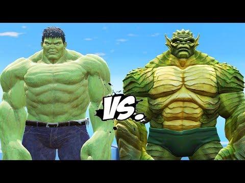 INCREDIBLE HULK VS THE ABOMINATION - EPIC...