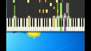 Bob Crosby   Blue orchids [Piano tutorial by Synthesia]