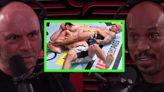 UFC Ref on Knowing When to Stop Submissions