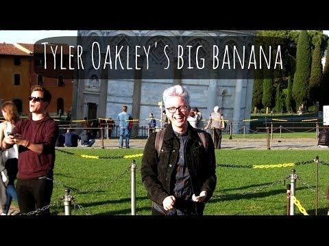 Tyler Shows Off His Big Banana | ThatcherJoe