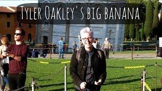 Tyler Shows Off His Big Banana   ThatcherJoe