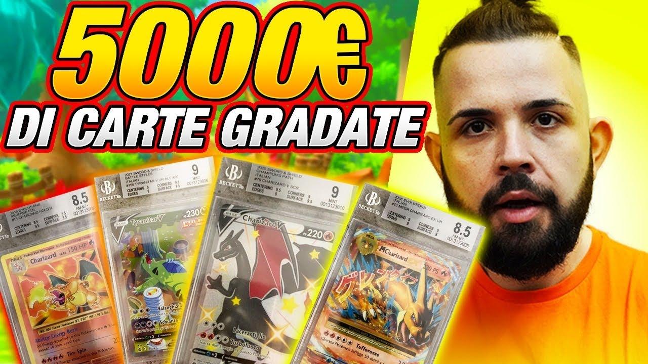 """Sono Tornate da BGS le mie Carte Pokemon """"5.000"""" EURO DI GRADAZIONE!"""