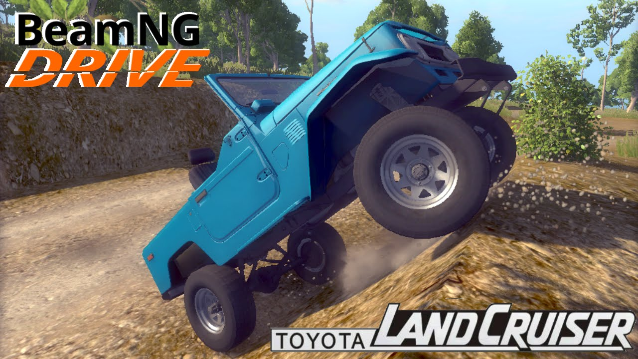 BeamNG DRIVE mod SUV 1980 Toyota Land Cruiser j40