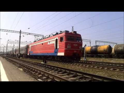 Депо Петров Вал с окна поезда (Прив.ж.д.)