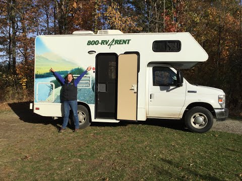 Cruise Canada C19 Model RV Motorhome Review